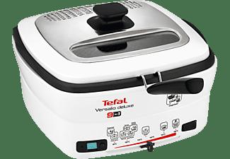 TEFAL Fritteuse FR 4950 Versalio Deluxe Weiß/Schwarz