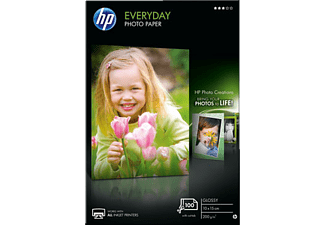 HP CR757A 10X15CM Everyday Glossy Photo Paper - 100 ark