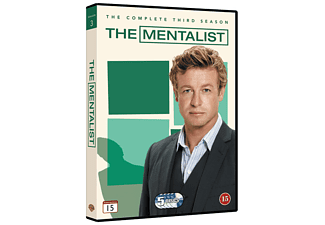 The Mentalist S3 DVD