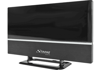 STRONG SRT ANT30 Zimmerantenne [DVB-T2, DVB-T, externer 20 dB Verstärker mit LTE Filter 4G, HDTV, Full HD]