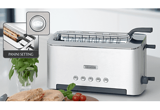 KENWOOD Toaster TTM 610 Aluminium