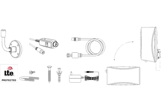 THOMSON Aktive DVB-T/T2 Außenantenne SRT ANT 45