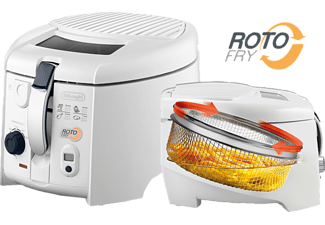 DE LONGHI Roto-Fritteuse F 28533 weiß