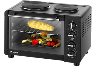TRISA Bake&Cook Mini-Backofen mit Kochplatte