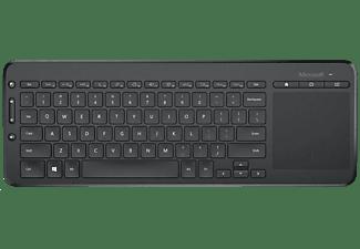 MICROSOFT Tastatur All-in-One, schwarz (N9Z-00008)