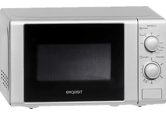 EXQUISIT Mikrowelle mit Grill MW 802 G SILBER