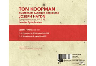 Ton Koopman - London Symphonies Vol.1: 97 & 98  - (CD)