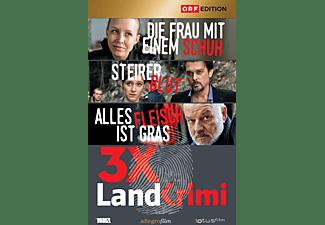 Landkrimi-Set 1 Steirerblut / Die Frau mit einem Schuh / Alles Fleisch ist Gras [DVD]