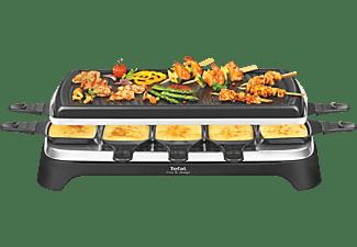 TEFAL Raclette-Grill 10 RE 4588 Schwarz