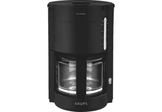 KRUPS F.309.08 Glas-Kaffeemaschine Pro Aroma schwarz