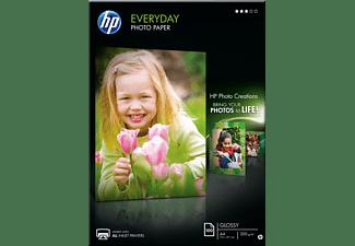 HP Standard Fotopapier glänzend  210 x 297 mm A4 100 Blatt im Format 210 x 297 mm