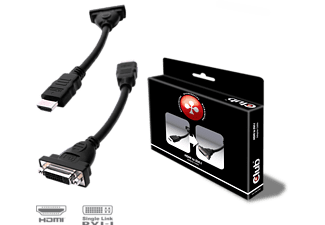 CLUB-3D HDMI auf DVI-I Passiver Adapter (CAC-HMD<gt/>DFD)