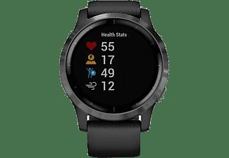 GARMIN Smartwatch Vivoactive 4, schwarz/schiefergrau (010-02174-12)