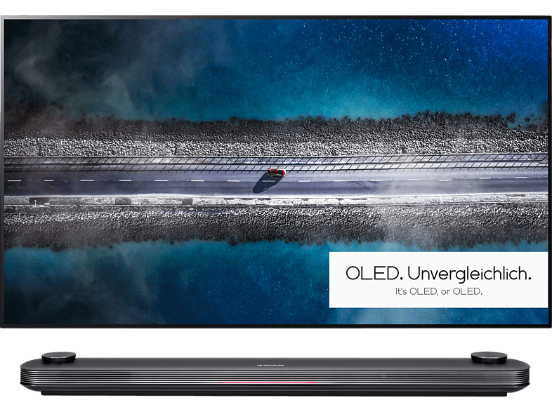 LG SIGNATURE OLED65W9PLA OLED TV (Flat, 65 Zoll/164 cm, UHD 4K, SMART TV, webOS 4.5 (AI ThinQ))