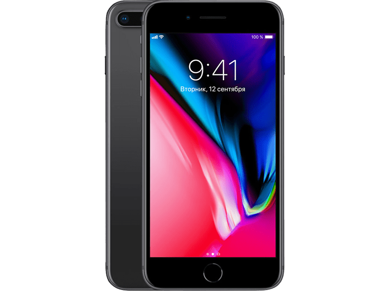 APPLE iPhone 8 Plus 128 GB Space Gray (MX242ZD/A)