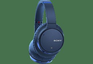 SONY WH-CH 700N, Over-ear Kopfhörer Bluetooth Blau