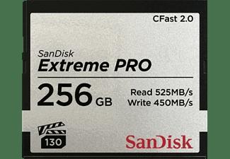 SANDISK Extreme PRO®, CFast 2.0 Speicherkarte, 256 GB, 525 MB/s