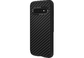 BLACK ROCK Real Carbon, Backcover, Samsung, Galaxy S10, Schwarz