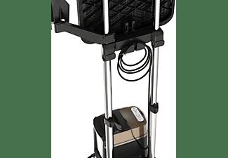 Plancha de vapor vertical - Rowenta QR2020D1, 2 en 1, 2170 W, 1.1 L, 90 g/min, Negro