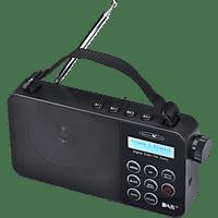 REFLEXION TRA2350DAB Radio, DAB+, FM, Schwarz