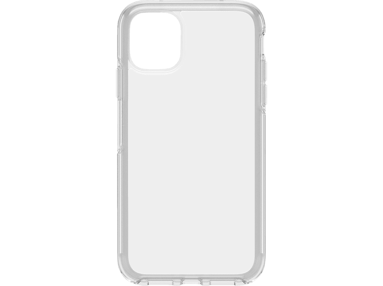 OTTERBOX Symmetry Clear , Backcover, Apple, iPhone 11, Polycarbonat, Kautschuk, Transparent