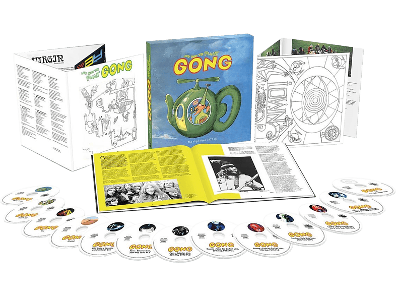 Gong - Love From Planet Gong: The Virgin Years 1973-1975 (LTD) CD + DVD Video
