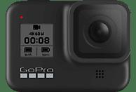 GOPRO Hero 8 Action Cam 4k (60fps), 2.7k 120( fps), 1440p (120), 1080p (240fps) und mehr/Videoschleife/8x Slo-Mo , WLAN, Touchscreen