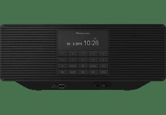 PANASONIC RX-D70BTEG-K CD/ DAB+ Radio mit Bluetooth, DAB+ Tuner/ Analog Tuner, DAB+, FM, Bluetooth, Schwarz