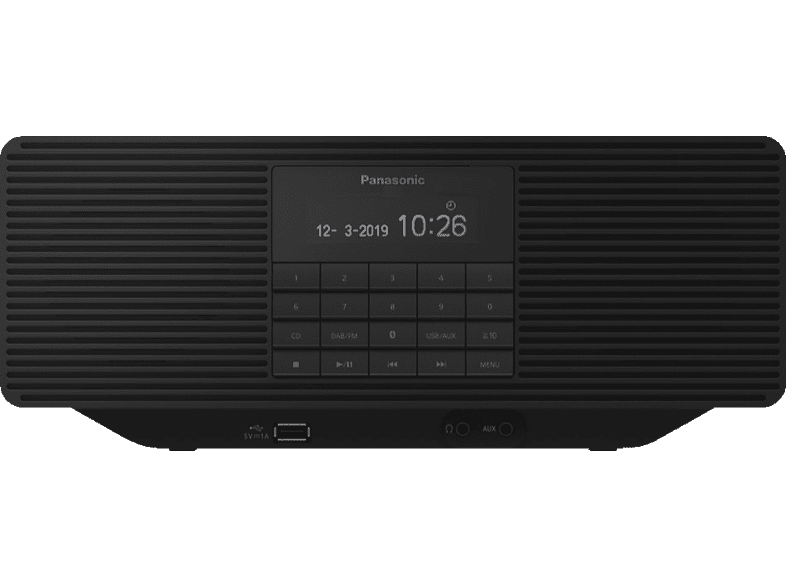 PANASONIC RX-D70BTEG-K, Radio