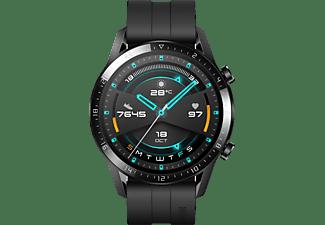 HUAWEI Smartwatch Watch GT 2 Sport Edition 46mm Schwarz mit Silikonarmband