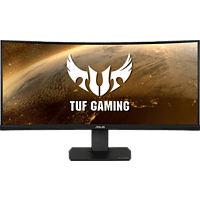 ASUS Gaming Monitor TUF Gaming VG35VQ, 35 Zoll, schwarz (90LM0520-B01170)