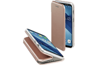 HAMA Curve , Bookcover, Samsung, Galaxy A6+, Polyurethan/Thermoplastisches Polyurethan, Rosegold