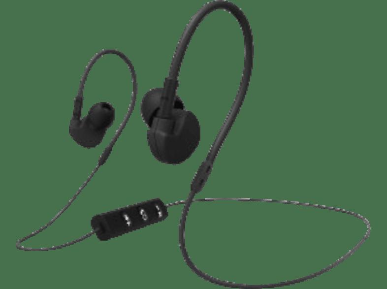HAMA Run BT, In-ear Headset Bluetooth Schwarz