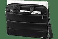 HAMA Toronto Notebooktasche, Umhängetasche, 14.1 Zoll, Schwarz