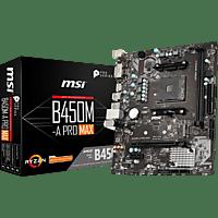 MSI B450M-A Pro Max Mainboard Schwarz