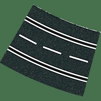 CARRERA (TOYS) Kurven 4/15° (12) Zubehör, Mehrfarbig