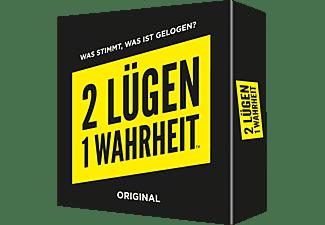 PEGASUS SPIELE 2 Lügen 1 Wahrheit Erwachsenenspiele Schwarz/Gelb