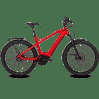 HNF-NICOLAI XD3 Urbanbike (27.5 Zoll, 49.5 cm, 625 Watt, Rot)