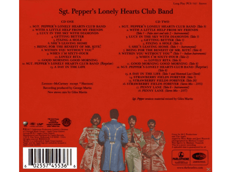 The Beatles Sgt Pepper S Lonely Hearts Club Band Anniversary Deluxe Edition Cd Pop Rock