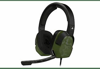 Auriculares - PDP LVL 3 Binaural Diadema, Micrófono, Binaural, Alámbrico, Circumaural, Verde