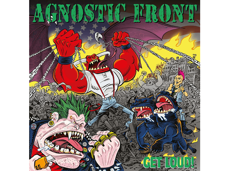 Agnostic Front - GET LOUD! -PD/LTD- Vinyl