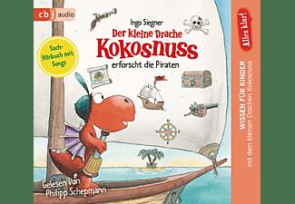 Der kleine Drache Kokosnuss erforscht die Piraten  - (CD)
