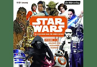 Star Wars - Star Wars-Saga für Kinder erzählt (Episode 1-8)  - (CD)
