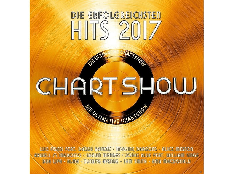 VARIOUS - Die Ultimative Chartshow-Hits 2017 [CD]