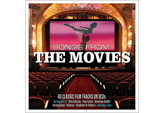 VARIOUS - Songs From The Movies  - (CD)