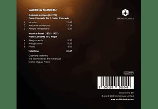 Gabriela Montero, Prieto, Orchestra Of The Americas - Montero & Ravel: Klavierkonzerte  - (CD)