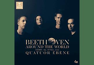 Quatuor Ébène - Beethoven Around the World: Wien-op.59 1 & 2  - (CD)