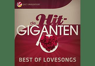 VARIOUS - Die Hit Giganten Best Of Lovesongs  - (CD)