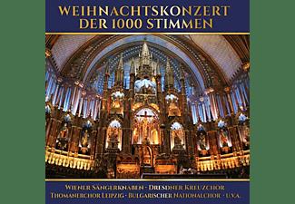 VARIOUS - Weihnachtskonzert Der 1000 Stimmen  - (CD)