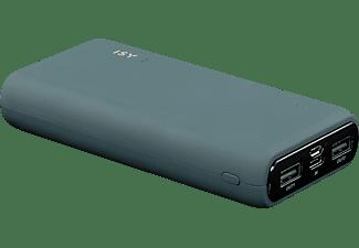 ISY IPP 20000-HD-BK  Powerbank 20000 mAh Blaugrau
